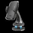 TRUST Yudo autós telefon tartó vezeték nélküli töltéssel (22446)