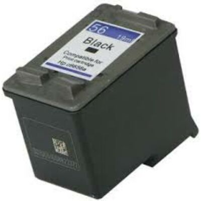 HP C6656AE Patron Black No.56 (Eredeti) FEKETE