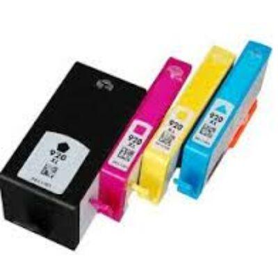 HP utángyártott tintapatron - Hewlett-Packard - cd972an-920xl-y-yellow-444