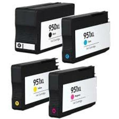 HP utángyártott tintapatron - Hewlett-Packard - 951xl-cn048a-sarga