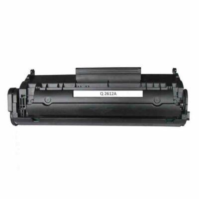 HP Q2612A (12A), Canon FX9,Canon FX10 toner FEKETE
