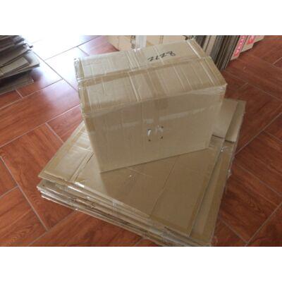 Használt 5 rétegű papírdoboz (kb. méret 50cm x 32cm x 40cm)