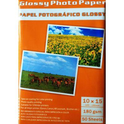 Photo papír Fotó papír fényes 100x150 180gsm / 50 lap