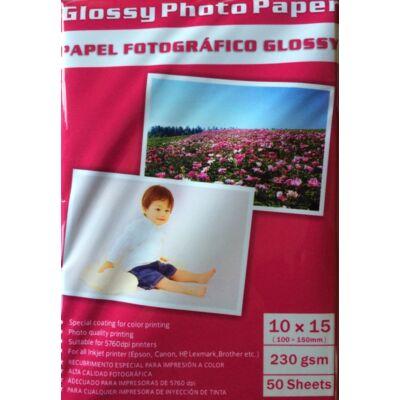Photo papír Fotó papír fényes 100x150 230gsm / 50 lap
