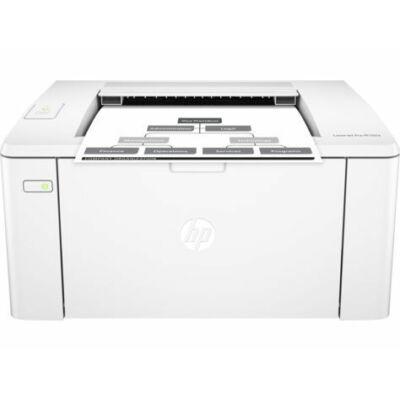 HP LaserJet Pro M102a fekete fehér monó nyomtató