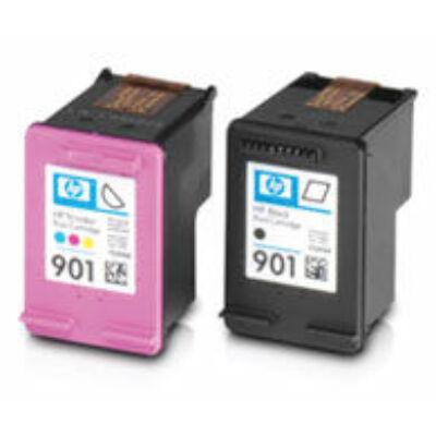 HP utángyártott tintapatron - Hewlett-Packard - 901xl-colour-hpcc656ae-441