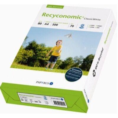 Fénymásoló A4/80g Recycled 70 RECYCONOMIC Classic White 70% fehérség,