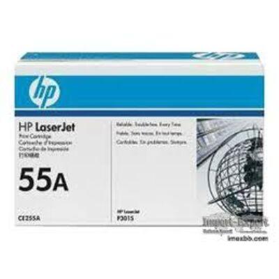 HP CE255A Toner Black 6k No.55A (Eredeti) FEKETE