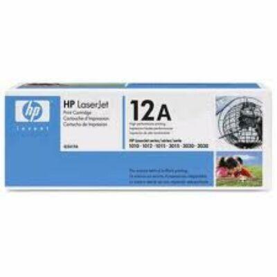 HP Q2612A Toner Black 2k No.12A (Eredeti) FEKETE