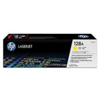 HP CE322A Toner Yellow 1,3k No.128A (Eredeti)