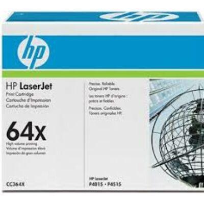 HP CC364X Toner Black 24k No.64X (Eredeti)