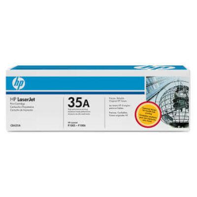 HP CB435A Toner Black 1,5k No.35A (Eredeti) FEKETE