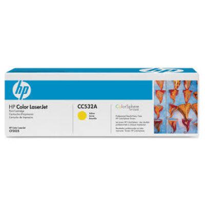 HP CC532A Toner Yellow 2,8k No.304A (Eredeti) SÁRGA