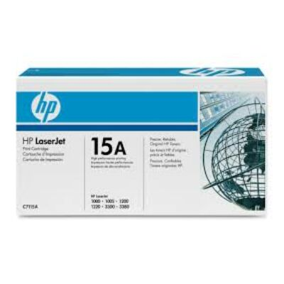 HP C7115A Toner Black 2,5k No.15A (Eredeti)