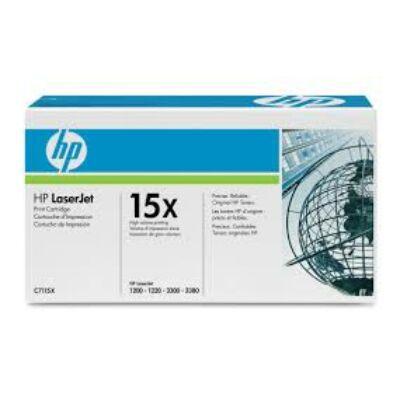 HP C7115X Toner Black 3,5k No.15X (Eredeti) FEKETE