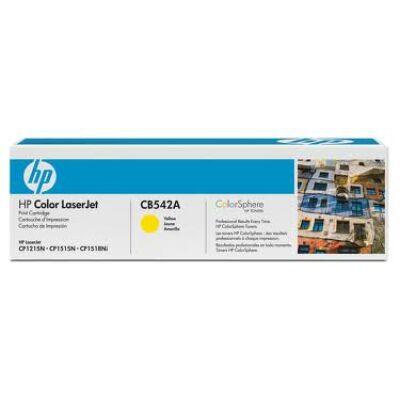 HP CB542A Toner Yellow 1,4k No.125A (Eredeti) SÁRGA