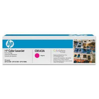 HP CB543A Toner Magenta 1,4k No.125A (Eredeti) MAGENTA