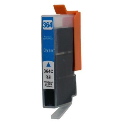 HP utángyártott tintapatron - Hewlett-Packard - 364xl-c-432