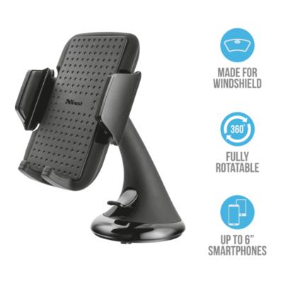 Trust Premium autós okostelefon tartó adatai 20398