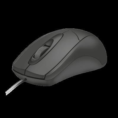 Trust Ziva USB Egér - Fekete 21947