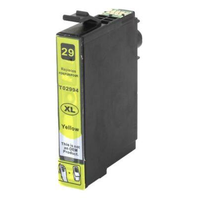 Epson utángyártott tintapatron - Epson - t2994 - 29xl - sarga - 798