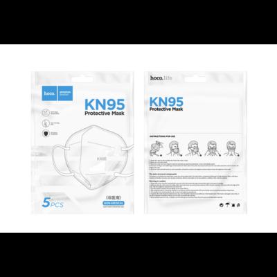 KN95 5 rétegű szájmaszk - 5 darab / csomag