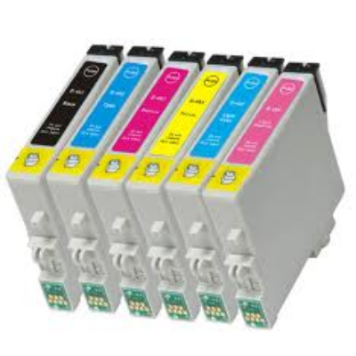 Epson utángyártott tintapatron - Epson - t481bk